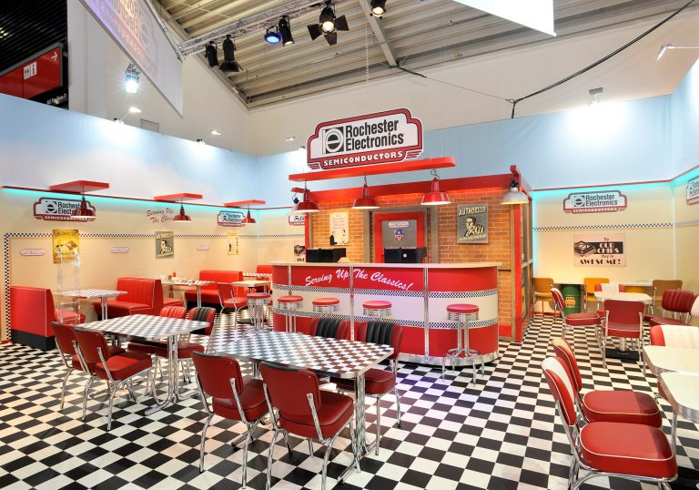 American Diner Style | Electronica Munich