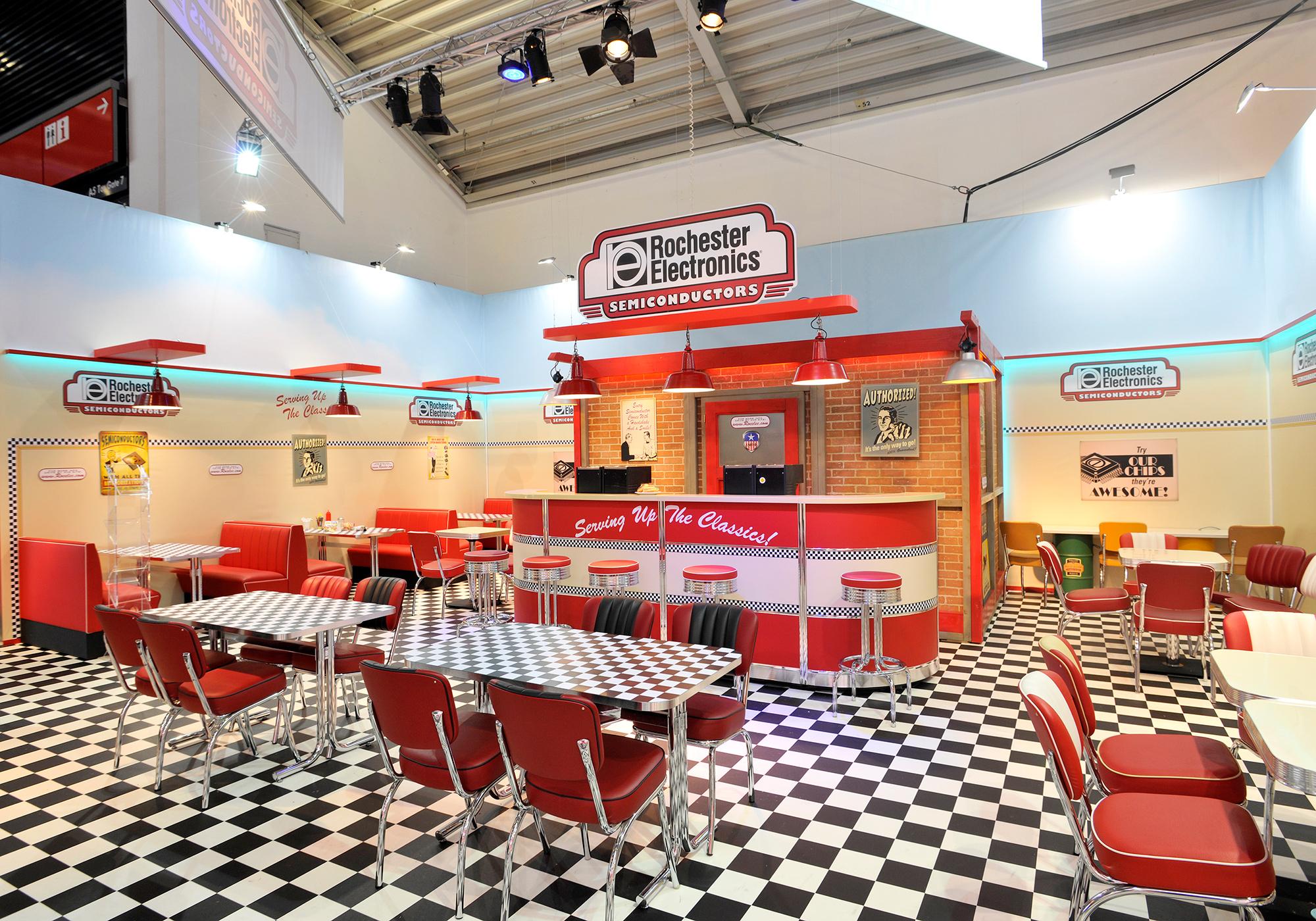 American Diner Stil | Electronica München