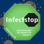 Besuchen Sie unsere Produktseite www.Infectstop.de mit aktuellen Produkten für COVID 19 Schutzkonzepte